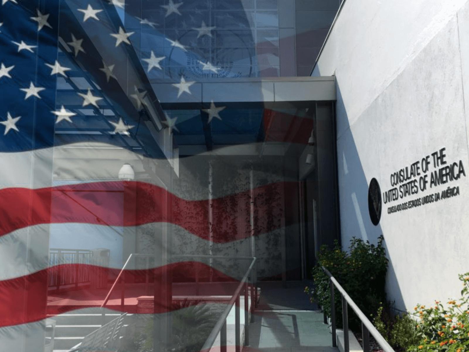 Consulado dos EUA em Porto Alegre fará coleta biométrica