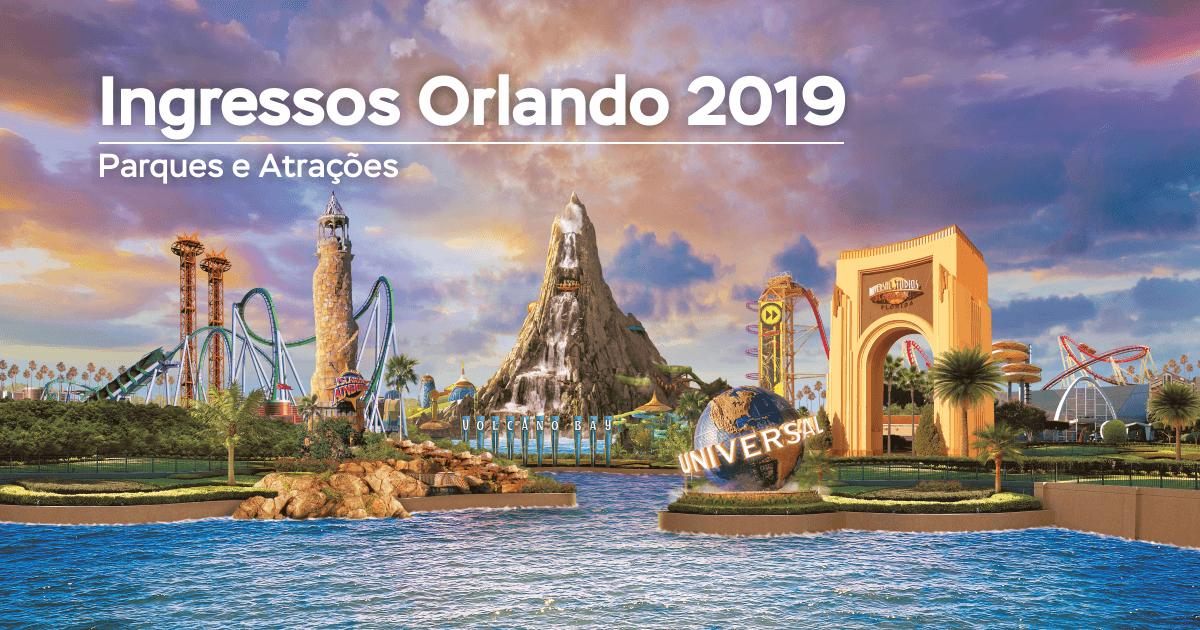 Ingressos em Orlando - Parques e Atrações