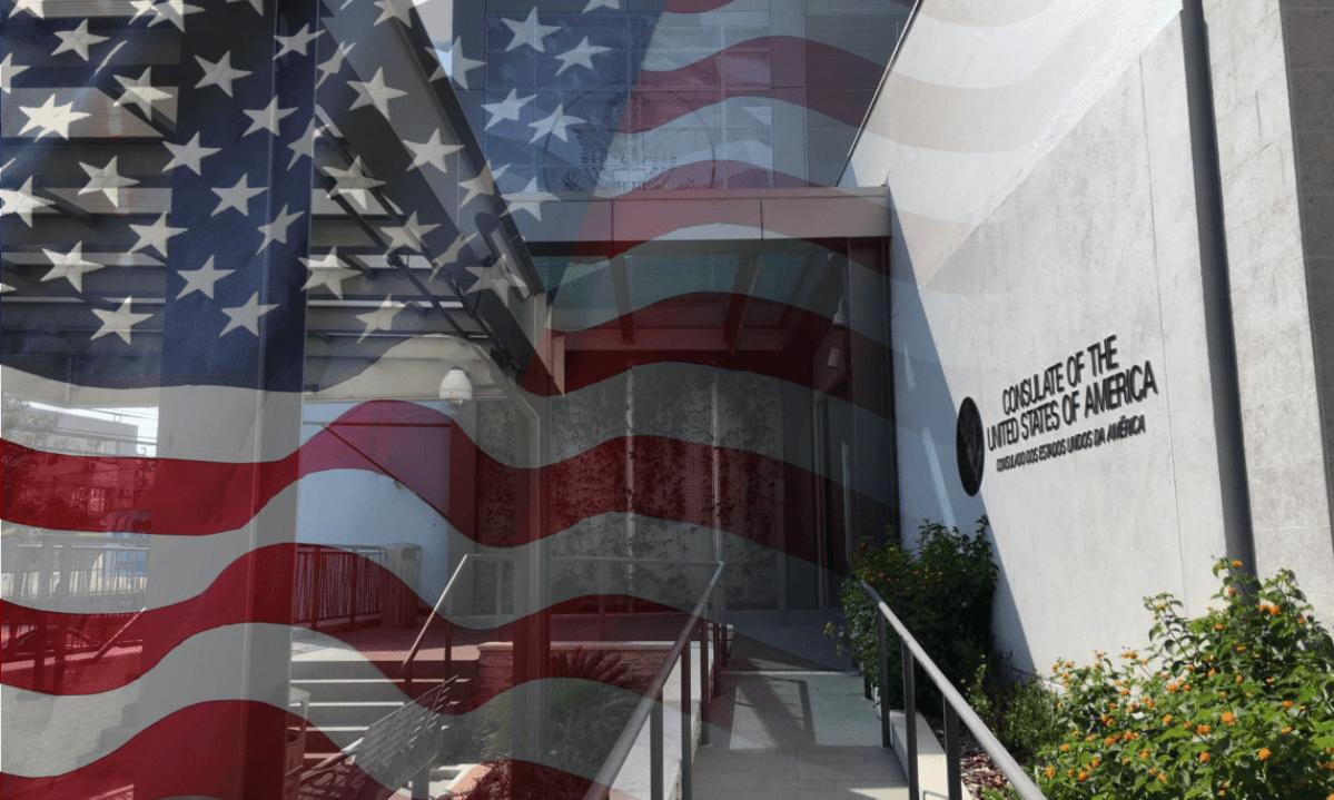Consulado Geral dos EUA em Porto Alegre suspende temporariamente os serviços consulares