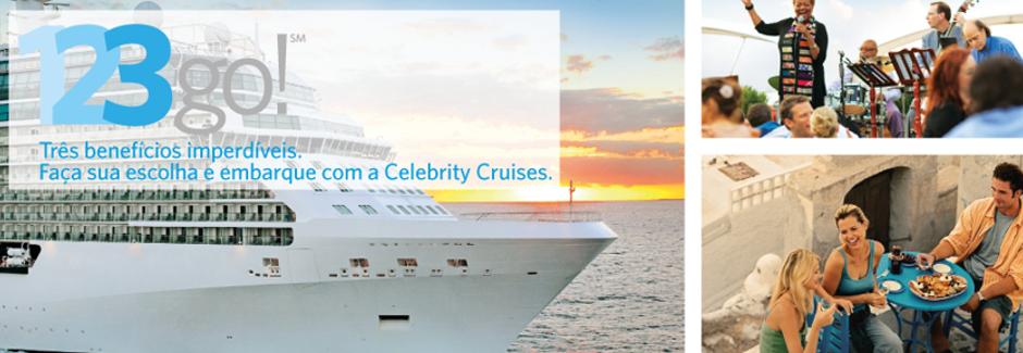 Celebrity Cruises - Promoção 123Go!