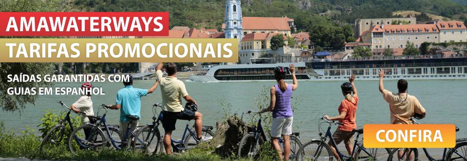 AmaWaterways - Saídas garantidas com guias em espanhol