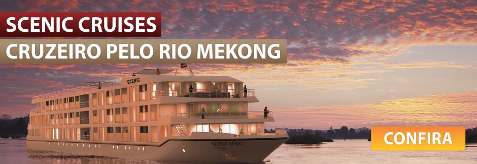 Descubra as belezas do Mekong a bordo do luxuoso Scenic Spirit