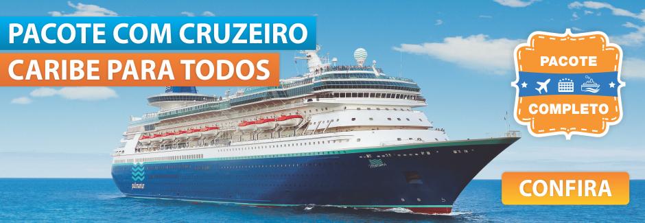 Caribe para Todos - Cruzeiro com Pacote Completo