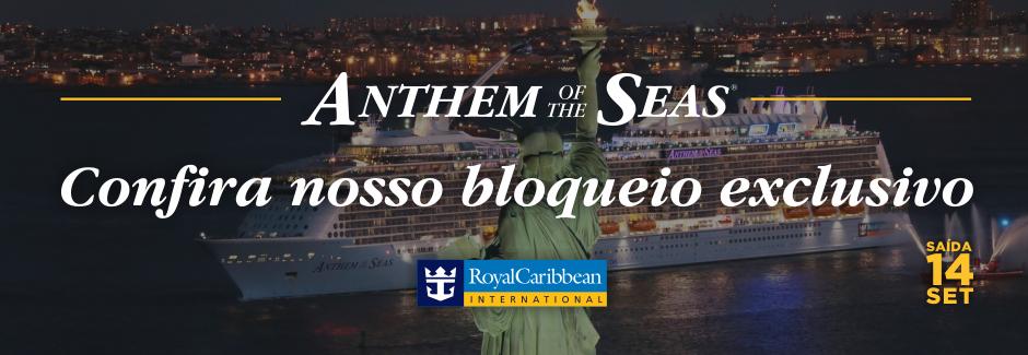 Bloqueio Anthem of the Seas