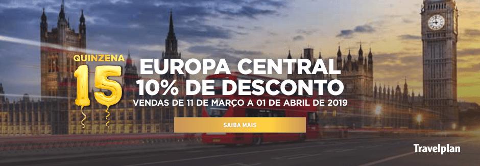 Travelplan 10% Europa Central